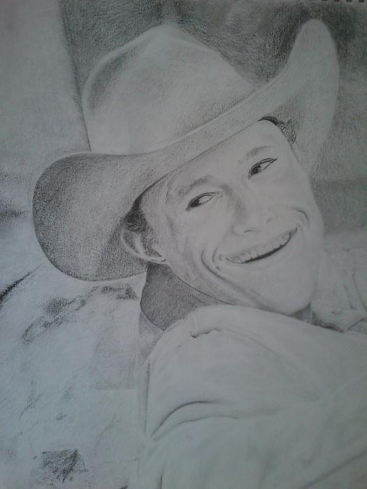 Heath Ledger by zeeziad